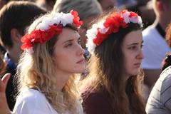 Via Crucis WYD 2016 (santacrocegmg) Tags: gmg gmg2016 wyd wyd2016 worldyouthday viacrucis blonia krakow krakow2016 cracovia polska poland polonia preghiera giovani flags bandiere misericordia papafrancesco