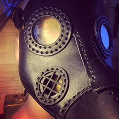 - [x] #postapocalyptic #postapocalypse #steampunk #steampunkmask #leathermask #handmade #LARP #plaguedoctor #plaguedoctormask #dieselpunk #dark #Leather #costume #cosplay (tovlade) Tags: face mask cyberpunk cyber goth make up goggles girl punk postapocalyptic postapocalypse black steampunk leather hand made larp cybergoth dieselpunk plague doctor