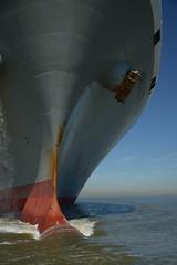 Manchester Bridge DST_5810 (larry_antwerp) Tags: manchesterbridge kline bow boeg 9706748 antwerp antwerpen       port        belgium belgi          schip ship vessel        schelde