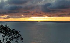 jastrzebia gora golden sunset (kexi) Tags: golden sunset horizon clouds water sea balticsea jastrzebiagora pomorze pomerania poland polska canon june 2015 tree dissymmetry instantfave