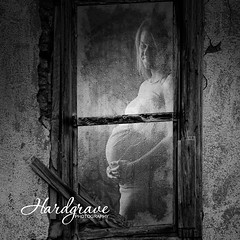 Maternity (Hardgrave Photography) Tags: picturewindows windows photosets virtuialsets europe warehouses ghosttowns cities glass frostedglass rainyglass smokedglass icicles snow trees shrubs lightposts lightpoles rain cutout lightbrush studiomagic arkansasmaternityphotographer