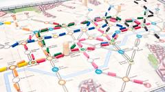 A new Tube map (msaari) Tags: boardgames lenstags ontheunderground panasoniclumixgvario123528 ropecon ropecon2016