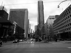 Downtown Toronto (whittakermj4) Tags: toronto canada ontario downtown street monochrome blackandwhite officetower february 2016