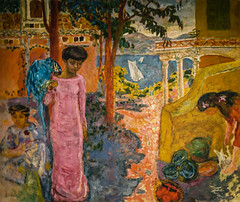 Pierre Bonnard - Woman with a Parrot, 1910 at Pierre Bonnard: Painting Arcadia Exhibit Legion of Honor Museum of Fine Arts San Francisco CA (mbell1975) Tags: sanfranciscocaliforniaunitedstatesuspierrebonnardwomanwithaparrot 1910atpierrebonnardpaintingarcadiaexhibitlegionofhonormuseumoffineartssanfranciscoca museum museo muse musee muzeum museu musum mze finearts fine arts gallery gallerie beauxarts beaux galleria french impression impressionist impressionism painting