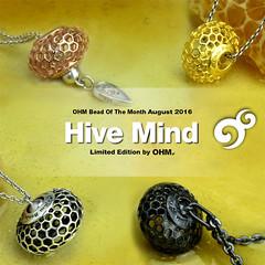 Hive Mind-nl (OHM Beads TW) Tags: botm hivemind ohm limited