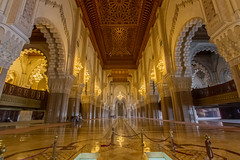 Grande Mosque Hassan II (Rjme) Tags: architecture hassanii hdr urban