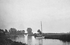 Ludham Bridge River Ant 1963. (Fred Collins afloat and ashore) Tags: norfolk broads hearts cruisers