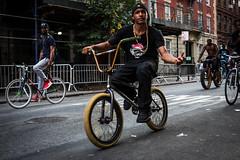 DSCF9134 (john fullard) Tags: 2016 africanamericanday fujixpro1 harlem newyork nyc parade september urban bike bicycle rider group street candid city manhattan