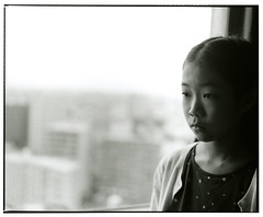 MOMO (Tamakorox) Tags: family shadow portrait art love film girl japan japanese lights asia kodak daughter 日本 graduate b&w ilford pleasure 光 娘 愛 影 卒業 mamiyarb67 analoguecamera 日本人 喜び