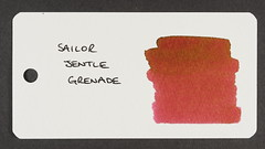 Sailor Jentle Grenade - Word Card