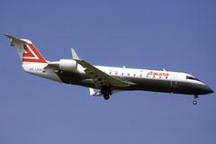 Lauda CRJ-100ER OE-LRA BCN 02/09/1995 (jordi757) Tags: barcelona airplanes bcn avions bombardier canadair lauda elprat crj100 lebl oelra