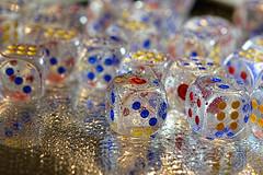 More Dice! (WilliamND4) Tags: dice reflection wet nikon bokeh waterdrops brilliant d610 tokina100mmf28atxprod