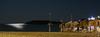 Batsi bay at night (Theocharis Kalamaras) Tags: sea sun moon beach landscape island bay village aegean hellas greece andros nigth discover batsi aegeansea