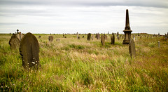 Taking a grave view. (Tall Guy) Tags: hartlepool cemetry tallguy uk graveyard grave