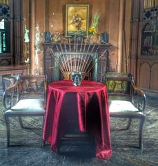 Charleville Castle (Monchichila) Tags: trees forestry ireland dark library skull haunted castle charleville
