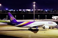 Boeing 777-2D7   HS-TJF   Thai Airways International (Max Alpha X-ray) Tags: thai boeing bkk tha tg thaiairways svb boeing777 b777 b772 boeing777200 b777200 suvarnabhumiairport vtbs suvarnbhumi  thai777 thaib777