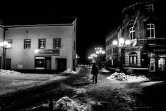 Mikow (nightmareck) Tags: mikow lskie grnylsk silesia polska poland europa europe fotografianocna night handheld winter zima czarnobiay blackandwhite bw fujifilm fuji xe1 apsc xtrans xmount mirrorless bezlusterkowiec xf18mm xf18mmf20r fujinon pancakelens