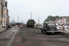 IMG_7196 - Dunkirk Film Set - Weymouth - 28.07.16 (Colin D Lee) Tags: christophernolan warnerbros studio hollywood movie film set dunkirk weymouth quay dorset worldwar2 filming cars truck