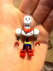 """""""NYEH HEH HEH!"""" (TheEleH) Tags: lego papyrus custom undertale"""