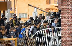 Passengers Leaving Ferry (PAJ880) Tags: new york nyc ferry island harbor si bridges terminal passengers crew staten commuters warerfront