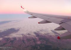 Going Higher (Antnio A. Huergo de Carvalho) Tags: world pink sky high wings aviation wing rosa cu airbus asa avio winglet mundo aviao voar a320 voo asas airbusa320 avianca prony aviaocomercial sharklet
