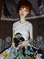 IH head - Dollshe body (loire61) Tags: ih head dollshe body iplehouse outfit
