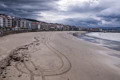 Playa de Silgar ( Sanxenxo ) (Emilio Rico Uhia) Tags: procesadas2016rawdecatloon playas playadesilgar arenal mar oceano nubes sanxenxo riasbaixas photoshopcc cameraraw