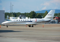 SP-EAR (Skidmarks_1) Tags: spear cessna citation sovereign businessjets bizjets aviation aircraft airport engm norway osl oslogardermoenairport