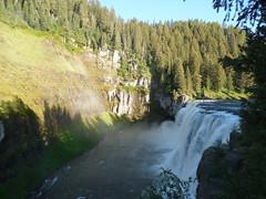 Rainbow over Upper Mesa Falls (jimmywayne) Tags: waterfall falls historic idaho waterfalls snakeriver henrysfork fremontcounty uppermesa
