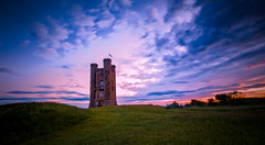 Morning Peace (spiderstreaky) Tags: british red clear walk beautiful orange english castle lookout yellow purple countryside pink high sunup architecture folly tower white clouds dawn blue d7100 sun cotswoldway green nikon sky snowshill big sunshine hilltop historic light sunrise worcestershire rise cotswolds broadway landscape dxooptics golden exposure hills summer nature detail fields goldenhour footpath beacon 500px top beauty dark wildlife