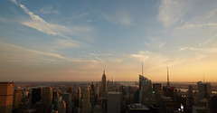 451A9033 (PamBolingPhoto) Tags: architecture city newyorkcity nyc rockefellercenter sunset topoftherock
