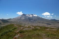 Mount St. Helens from Harry's Ridge (jlcummins - Washington State) Tags: mountains st hike helens harrys mountsthelensnationalvolcanicmonument johnstonridgeobservatory ridgemount boundarytrail1