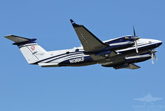 N136KF BEECH 350 KING AIR (QFA744) Tags: n136kf beech 350 king air