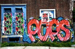 graffiti amsterdam (wojofoto) Tags: graffiti amsterdam netherland nederland holland wojofoto wolfgangjosten ndsm pop pops