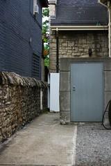 Secret Door (illusionarymess) Tags: hamilton door summer walk dusk