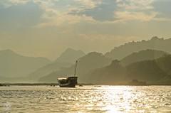 Lighting Mood on Mekong - Laos (jennifer.stahn) Tags: travel reise mekong fluss river boat laos luangprabang asia asien aroundasia nikon jennifer stahn light mood