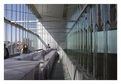 Casa da Musica  -  Hanging caf (AurelioZen) Tags: europe portugal porto avenidadaboavista casadamusica hangingbar remkoolhaas oma