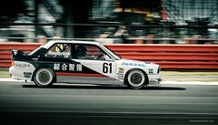1990 BMW M3 E30 Touring Car (@turnfive | brianwalshphotos.com) Tags: 2016 july motorsport silverstone silverstoneclassic bmw bmwm3 bmwmotorsport touringcar classic retro motor racing panning speed canon 7dmkii 70200 e30 m3 car