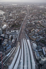 Cityscape of London. (bgfotologue) Tags: 2016 500px bgphoto cityscape england europe image imaging landscape london photo photography railway shard station theshard tracks travel tumblr uk unitedkindom bellphoto