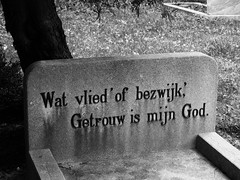 'Memories Of Our Dear Departed' (Miranda Ruiter) Tags: photography biblepassage tombstone death cemetaries graveyard alkmaar