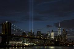 New York_20160910_043 (falconn67) Tags: newyork nyc city travel canon 5dmarkiii 24105l night longexposure bridge manhattan brooklyn brooklynbridge worldtradecenter tributeinlights memorial 911 september11 wtc