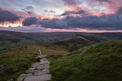 The Great Ridge (charlieshelton33) Tags: castleton edale hopevalley mamtor peakdistrict sunrise sunset wildcamp