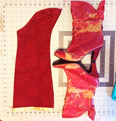 Boots5 (Kristin Brenemen) Tags: costume cosplay boot tutorial bootcovers sewing red hannah wyldkysscostumes