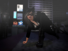 Catwoman (Alyssa Drechsler) Tags: secondlife heroes hero villian catwoman comics heroines