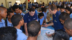 Cutter Sequoia Western, Central Pacific fisheries deployment (Coast Guard News) Tags: 225 comrel d14 palau phs recruiting sequoia underway westernpacific wlb pw