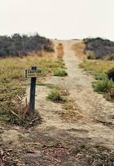Cliff (ADMurr) Tags: california path cliff danger leica m4 50mm zeiss planar zm fuji 200