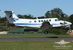VH-EWG BEECH 200 KING AIR (QFA744) Tags: king air 200 beech vhewg