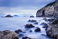 (Rodrigo Herweg) Tags: seascape beach japan canon scenery land environment irago tahara kissx