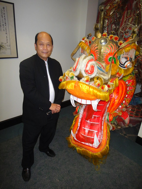 2011 Tom Lo with JACKIE CHANs Big Dragon
