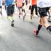 Marathon Paris 2015 by Laurent Tiné: Dans la course, in the race